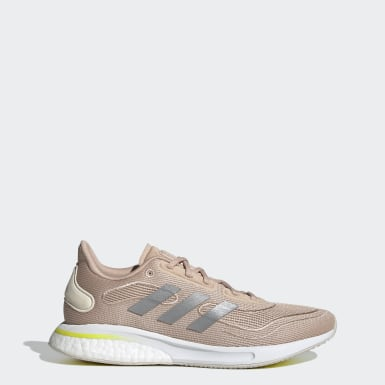 Women Running Beige Supernova Shoes