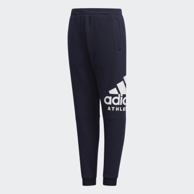 Children Training Blue Sport ID Pants