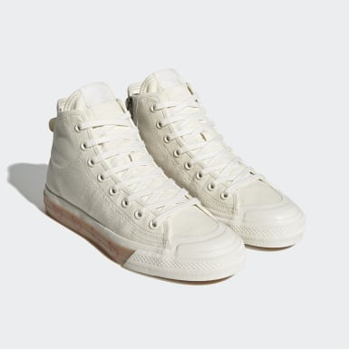 Men's Originals White Human Made Nizza Hi Shoes