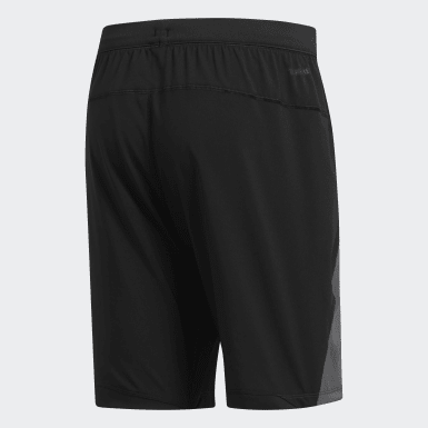 Shorts 4KRFT Woven 10-Inch Negro Hombre Training