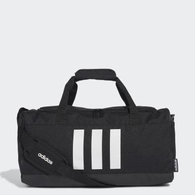 ไลฟ์สไตล์ สีดำ กระเป๋าดัฟเฟิล 3-Stripes ขนาดเล็ก