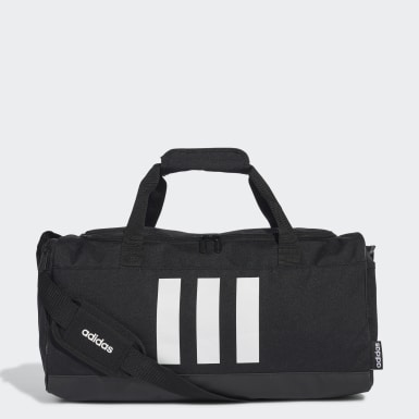 Bolsa Duffel 3-Stripes Pequena (UNISSEX) Preto Training
