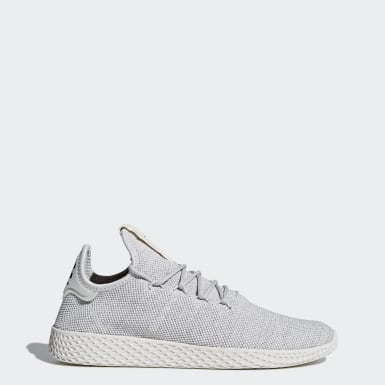 Men Originals Grey Pharrell Williams Tennis Hu Shoes