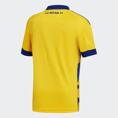 Tercera Camiseta Boca Juniors 20/21 Amarillo Niño Fútbol