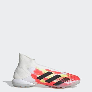 Zapatos de fútbol Predator Mutator 20+ Pasto Sintético Blanco Hombre Fútbol
