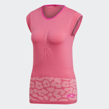 Polera adidas by Stella McCartney Court Rosado Mujer adidas by Stella McCartney