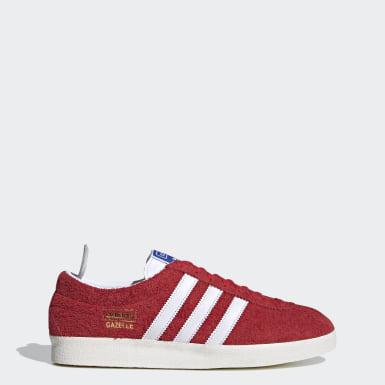 Originals Gazelle Vintage Schuh Rot