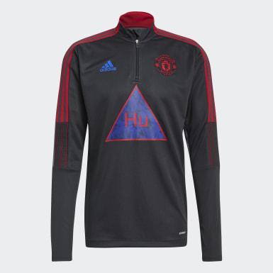 Heren Voetbal Grijs Manchester United Human Race Sportshirt