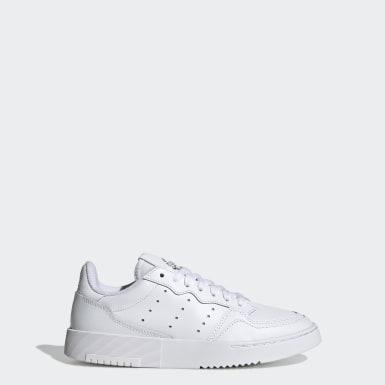 เด็ก Originals สีขาว รองเท้า Supercourt
