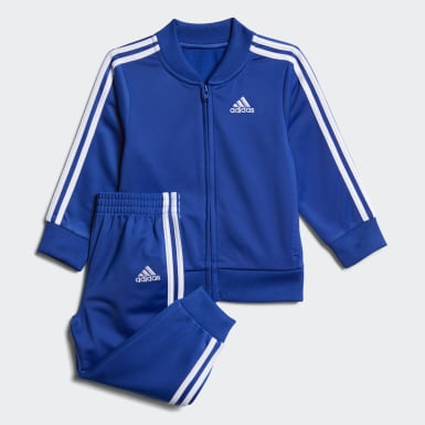 Infant & Toddler Training Blue Tricot Jacket and Joggers Set