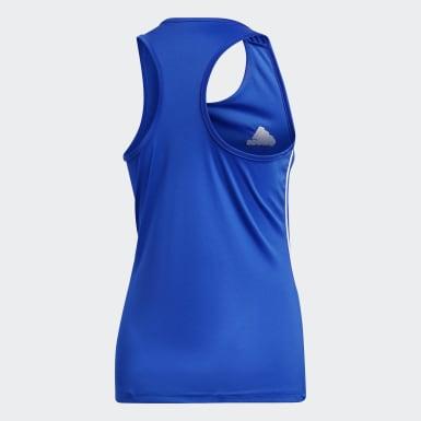 CORE18 TANK W Azul Mulher Futebol
