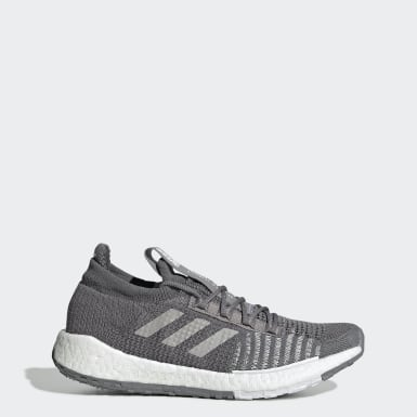 Women's Running Grey Pulseboost HD Shoes