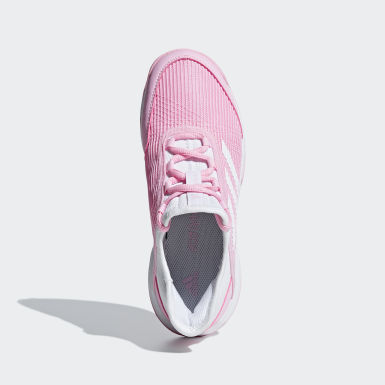 Children Tennis Pink Adizero Club Shoes