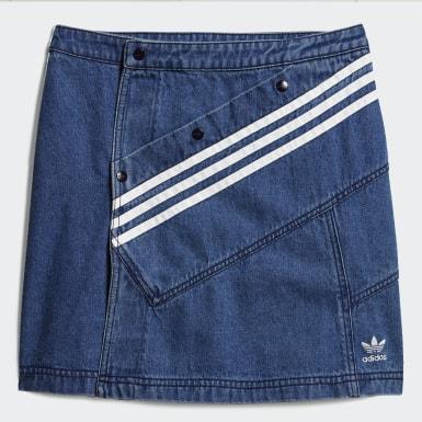 Women Originals Blue Denim Skirt