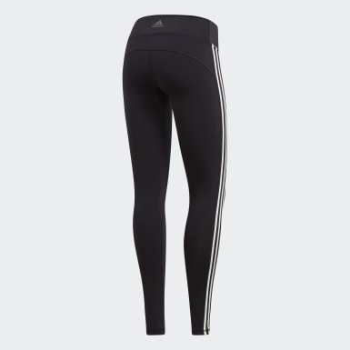 Women Training Black Believe This 3-Stripes Tights