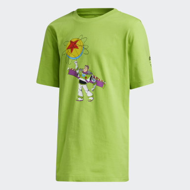 Children Basketball Green Buzz x Luxo Basketball Toy Story Tee