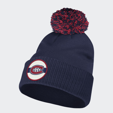 Men Training Multicolor Canadiens Stadium Cuffed Pom Beanie