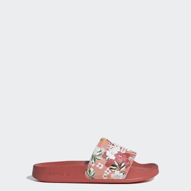 Kids Originals Pink Adilette Lite Slides