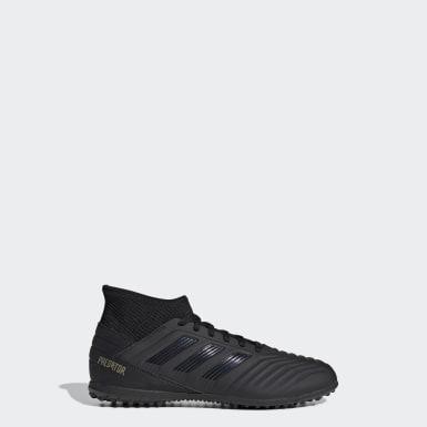 Zapatos de Fútbol Predator Tango 19.3 Césped Artificial Negro Niño Fútbol