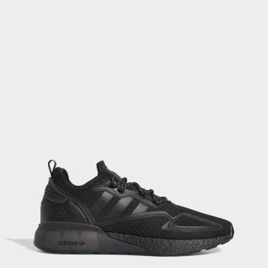 Men Originals Black Pharrell Williams ZX 2K Boost Shoes
