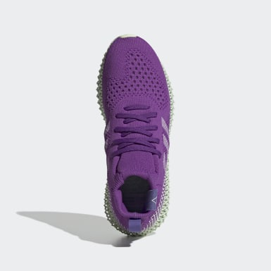 Originals Purple Pharrell Williams 4D Shoes