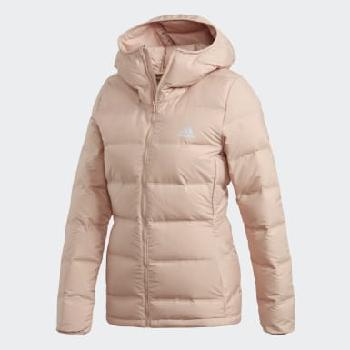 бежевый Куртка-пуховик Helionic