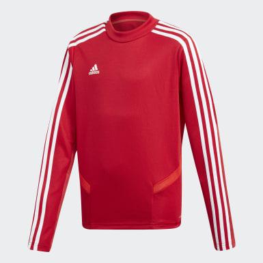 Camiseta entrenamiento Tiro 19 Rojo Niño Training