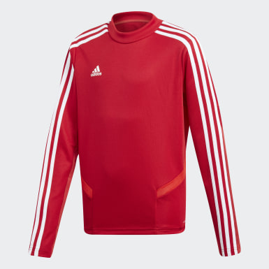 Kinderen Training Rood Tiro 19 Training Sweater