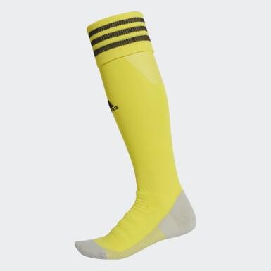 Calcetines AdiSocks con largo a la rodilla (UNISEX) Amarillo Fútbol