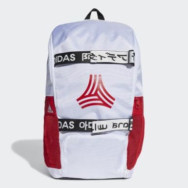 Football White Football Street AEROREADY Backpack