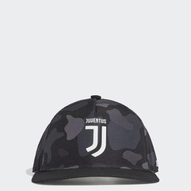 Gorra Juventus (UNISEX) Negro Fútbol