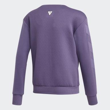 Veste de survêtement XFG Cover-Up Violet Filles Athletics