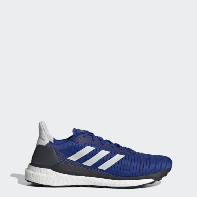 Men Running Blue SolarGlide 19 Shoes