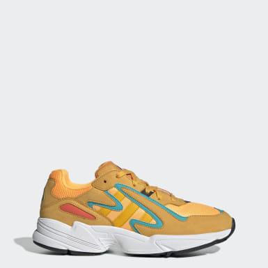 Sapatos Yung-96 Chasm Laranja Homem Originals