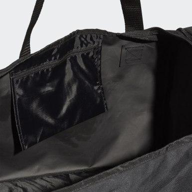Saco Duffel Tiro – Tamanho L Preto Treino