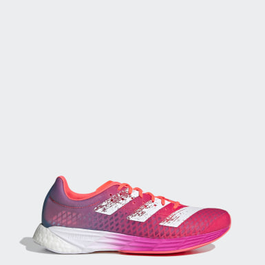Women Running Pink Adizero Pro Shoes