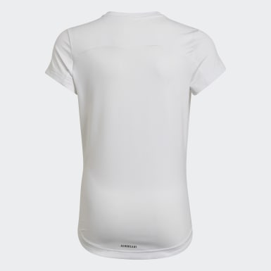 Meisjes Training Wit Bold AEROREADY T-shirt