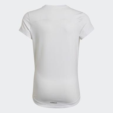 Camiseta Bold AEROREADY Blanco Niña Training
