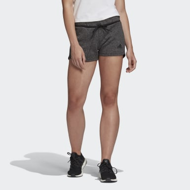 Women Athletics Black Must Haves Versatility Shorts