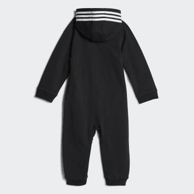 Infant & Toddler Training Black Coveralls