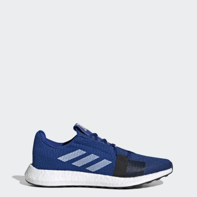 Men Running Blue Senseboost Go Shoes
