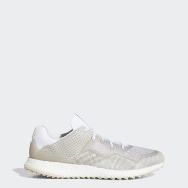 Mænd Golf Hvid Crossknit DPR Golf sko