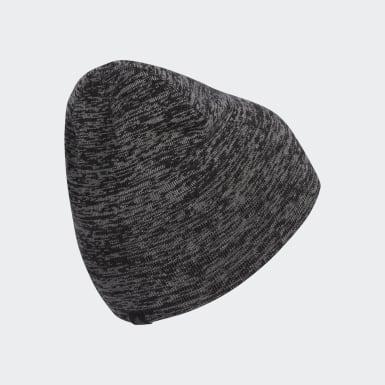 Bonnet de golf réversible chiné Crestable noir Hommes Golf