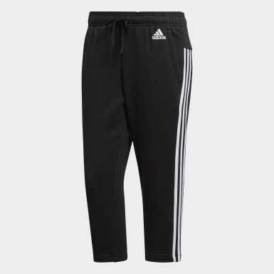 Essentials 3 Stripes Three Quarter Joggers