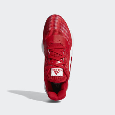 Chaussure Pro Bounce 2019 Low Rouge Femmes Basketball