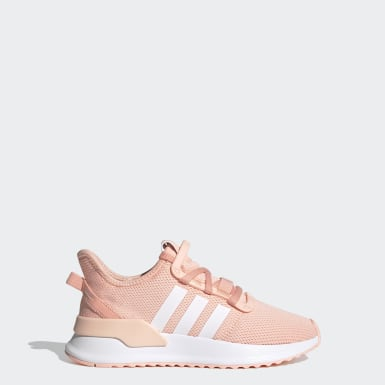 Youth 8-16 Years Originals Pink U_Path Run Shoes