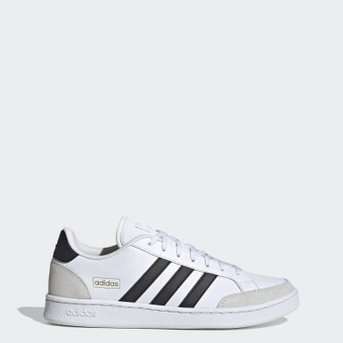 Sport Inspired สีขาว รองเท้า Grand Court SE