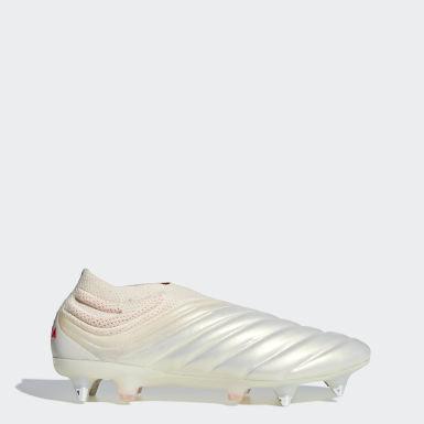 Copa 19+ Soft Ground Fotballstøvler Beige