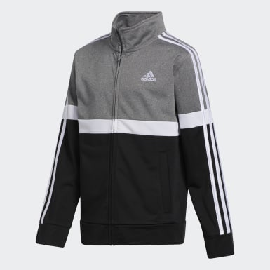 Children Training Grey Heathered Split Jacket