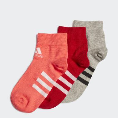 розовый Три пары носков Ankle